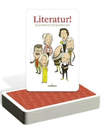 Literatur!-Quartett von Dawn Parisi